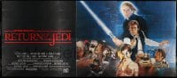 5d109 RETURN OF THE JEDI 24sh '86 George Lucas classic, art by Kazuhiko Sano, unbelievably rare!