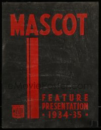 5d034 MASCOT 1934-35 campaign book '34 upcoming movies & they're getting Karloff and Lugosi, rare!