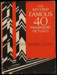 5d020 PARAMOUNT 1924 campaign book '24 great art for 40 releases from February to July of 1924!