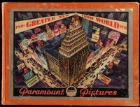 5d021 PARAMOUNT 1930-31 campaign book '30 Marx Bros in Cocoanuts + all full-color artwork!