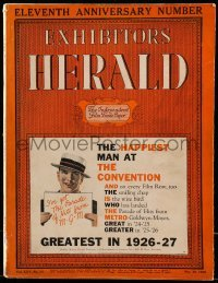 5d043 EXHIBITORS HERALD exhibitor magazine May 29, 1926 w/ United Artists 1926-27 campaign book!