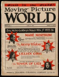 5d047 MOVING PICTURE WORLD exhibitor magazine June 13, 1925 includes incredible 1925-26 Pathe!