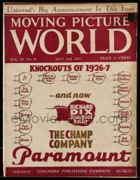 5d046 MOVING PICTURE WORLD exhibitor magazine May 2, 1927 w/ rare Universal 1927-28 campaign book!