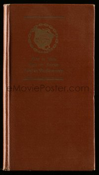 5d009 FIRST NATIONAL PICTURES DATE BOOK 1926-27 5x8 hardcover exhibitor's date book '26 rare!