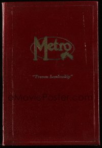 5d013 METRO DATE BOOK 1923-24 6x8 hardcover exhibitor's date book '23 Buster Keaton, Mae Murray!