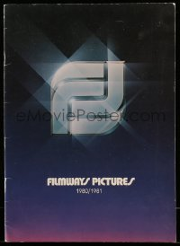 5k074 FILMWAYS PICTURES 1980-81 campaign book '80 totally different art for Blade Runner + more!