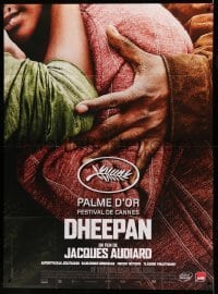 5k678 DHEEPAN French 1p '15 directed by Jacques Adiard, about Sri Lanka civil war refugees!