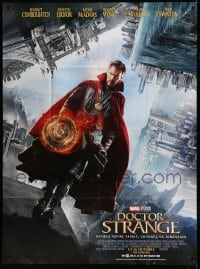 5k683 DOCTOR STRANGE advance French 1p '16 Benedict Cumberbatch in the title role, Marvel Comics!