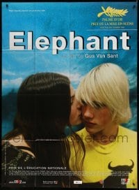 5k699 ELEPHANT French 1p '03 Alex Frost, teen school shooting directed by Gus Van Sant!