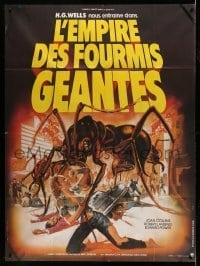 5k703 EMPIRE OF THE ANTS French 1p '78 H.G. Wells, completely different art by Michel Landi!