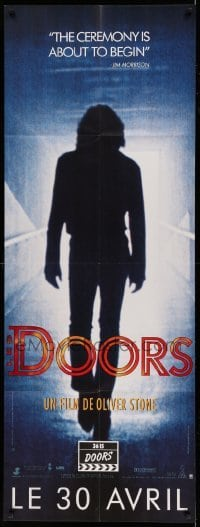 5k542 DOORS French door panel '90 Val Kilmer as Jim Morrison, directed by Oliver Stone!