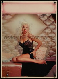 5k090 DIANA DORS 12x17 calendar sample '60 the sexy English blonde bombshell in skimpy nightie!