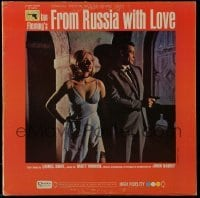 5k035 FROM RUSSIA WITH LOVE soundtrack Canadian record '64 Sean Connery, original James Bond music!