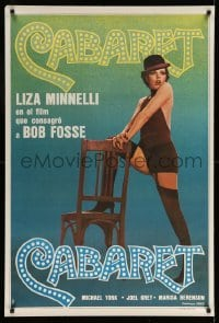 5p001 CABARET Argentinean R70s Liza Minnelli sings & dances in Nazi Germany, directed by Fosse!