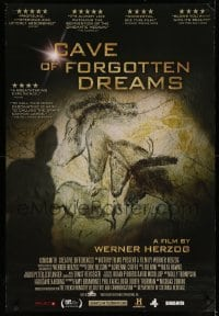 5p055 CAVE OF FORGOTTEN DREAMS Canadian 1sh '10 Werner Herzog directed, Chauvet Cave drawings!