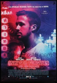 5p066 ONLY GOD FORGIVES advance Canadian 1sh '13 Ryan Gosling, directed by Nicolas Winding Refn!