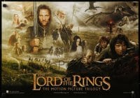 5p007 LORD OF THE RINGS TRILOGY Swiss '03 Peter Jackson, Tolkein, cool montage image!
