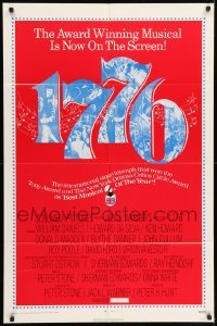 5t010 1776 1sh '72 William Daniels, the award winning historical musical comes to the screen!