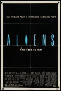 5t028 ALIENS 1sh '86 there are some places in the universe you don't go alone!