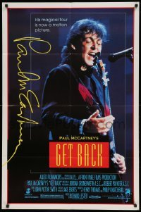 5t342 GET BACK 1sh '91 former Beatle Paul McCartney on a magical tour!
