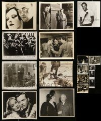 6d320 LOT OF 17 MOSTLY 8X10 STILLS '40s-80s great scenes from a variety of different movies!