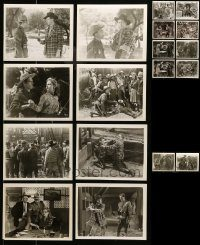 6d318 LOT OF 18 ROYAL MOUNTED RIDES AGAIN 8X10 STILLS '45 great scenes from several chapters!