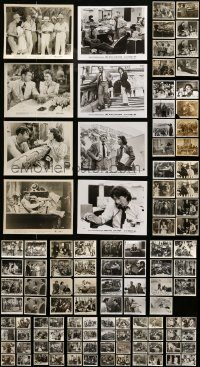 6d225 LOT OF 143 8X10 STILLS '50s-70s great scenes from a variety of different movies!