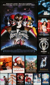 6d514 LOT OF 19 UNFOLDED DOUBLE-SIDED 27X40 MOSTLY FAMILY ONE-SHEETS '90s-00s cool movie images!