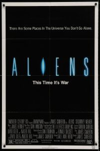 6f030 ALIENS 1sh '86 there are some places in the universe you don't go alone!