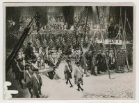 6g002 JEW SUSS Danish 6x8.25 still '34 climax of film with Jewish Conrad Veidt about to be hanged!