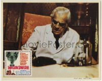 6g079 INCREDIBLE INVASION Mexican LC '71 different close-up image of creepy Boris Karloff!