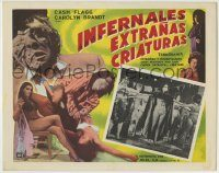 6g080 INCREDIBLY STRANGE CREATURES Mexican LC '63 they stopped living and became mixed-up zombies!