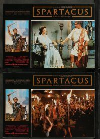 6g056 SPARTACUS 2 Spanish LCs R91 classic Stanley Kubrick & Kirk Douglas epic!