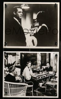 6g018 NOTORIOUS 4 Swiss 8.25x10 stills R60s Cary Grant & Ingrid Bergman, Alfred Hitchcock classic!