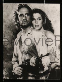 6g006 ROMANCING THE STONE 6 6.5x8.5 stills '84 images of Michael Douglas, Kathleen Turner & DeVito!