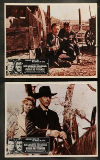 6g064 GUNFIGHT AT THE O.K. CORRAL 8 Mexican LCs R80 Burt Lancaster, Kirk Douglas!