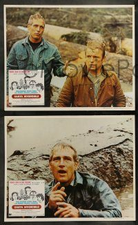6g067 SOMETIMES A GREAT NOTION 8 Mexican LCs '71 Paul Newman, Fonda, Jaeckel, Remick, Sarrazin!