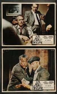 6g068 STING 8 Mexican LCs '74 con men Paul Newman & Robert Redford, Robert Shaw, Ray Walston