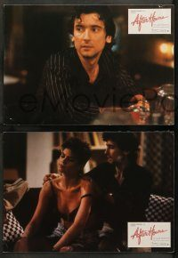 6g054 AFTER HOURS 4 Spanish LCs '86 Martin Scorsese, Griffin Dunne, Rosanna Arquette!