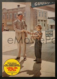 6g035 PAPER MOON 12 Spanish LCs '73 great images of father/daughter Ryan O'Neal/Tatum O'Neal!