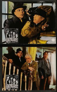 6g030 LADYKILLERS 6 Swiss LCs '60s Alec Guinness & gangsters + Katie Johnson, Ealing classic!