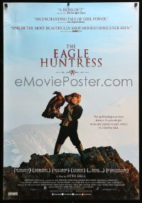 6j066 EAGLE HUNTRESS Canadian 1sh '16 spellbinding true story about epic journey to gain victory!