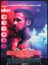6j077 ONLY GOD FORGIVES advance Canadian 1sh '13 Ryan Gosling, directed by Nicolas Winding Refn!