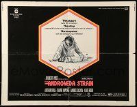 6k019 ANDROMEDA STRAIN 1/2sh '71 Michael Crichton novel, Robert Wise directed, Arthur Hill