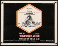 6k020 ANDROMEDA STRAIN int'l 1/2sh '71 Michael Crichton novel, Robert Wise directed, Arthur Hill