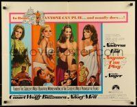 6k024 ANYONE CAN PLAY 1/2sh '68 sexiest near-naked Ursula Andress, Virna Lisi, Auger & Mell!