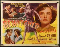 6k039 BEWITCHED style A 1/2sh '45 Phyllis Thaxter is a cruel love-killer and darling of society!
