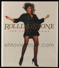 7g029 ROLLING STONE: THE PHOTOGRAPHS book 1989 great full-page photos of famous musicians!