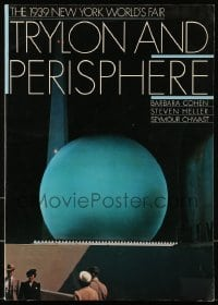 7g030 TRYLON & PERISPHERE: THE 1939 NEW YORK WORLD'S FAIR softcover book 1989 full-color images!