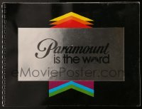 7g019 PARAMOUNT 1979-80 campaign book 1979 Star Trek, Grease, Escape From Alcatraz & more!